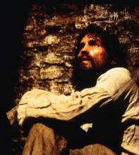 Castaway and forgotten: Jim Caviezel counts the stones in a Castle D'If cell