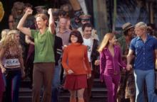 Scooby gang with Sarah Michelle Gellar (second from right)