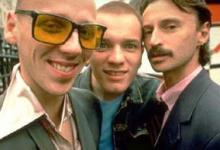 Ewen Bremner, Ewan McGregor and Robert Carlyle in Trainspotting